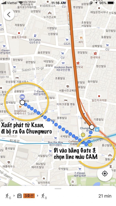 Hướng dẫn sử dụng tàu điện ngầm Hàn Quốc - Hướng dẫn đi Bus ở Hàn