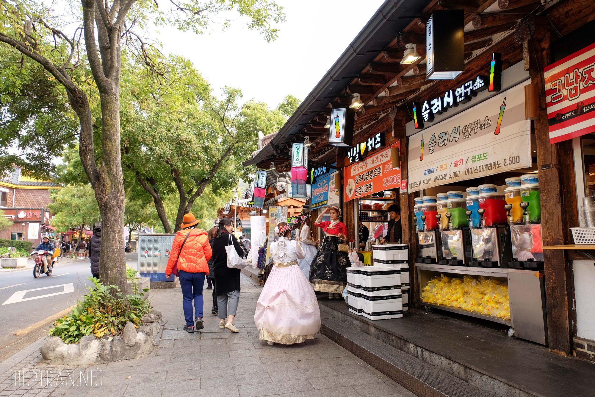 Kinh nghiệm du lịch Jeonju